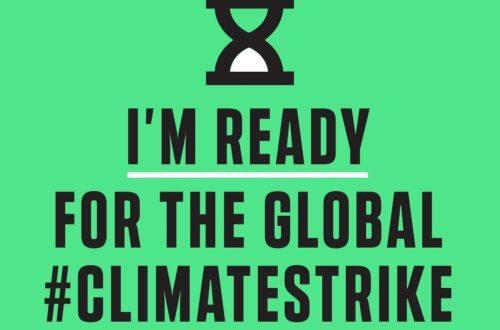 Global Climate Strike promo